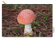 Fly Agaric Mushroom Carry-all Pouch by Kenneth Albin