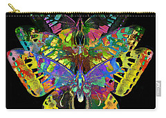 Carry-all Pouch featuring the digital art Fly Away 2017 by Kathryn Strick