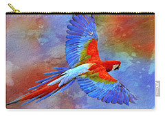 Carry-all Pouch featuring the painting Fly Away by Gabriella Weninger - David