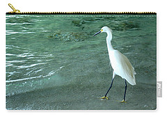 Egret Under Bridge Carry-all Pouch