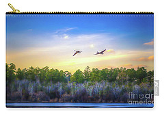 Fly Away Carry-all Pouch by Maddalena McDonald