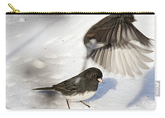 Carry-all Pouch featuring the photograph Fly By by Gary Wightman