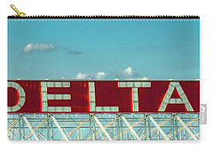 Fly Delta Jets Signage Hartsfield Jackson International Airport Art Atlanta, Georgia Art Carry-all Pouch
