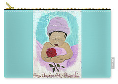 Fly Happy Unique Angel Again Carry-all Pouch by Talisa Hartley