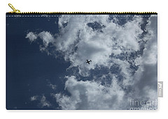 Carry-all Pouch featuring the photograph Fly Me To The Moon by Megan Dirsa-DuBois