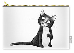 Fly On Cat Carry-all Pouch