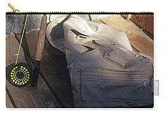 Fly Rod And Vest Carry-all Pouch
