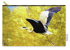 Flying Against The Wind Carry-all Pouch