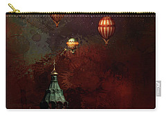 Flying Balloons Over Stockholm Carry-all Pouch