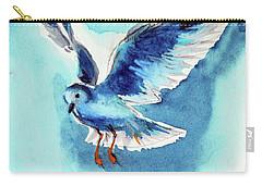 Flying Bird Carry-all Pouch by Kovacs Anna Brigitta