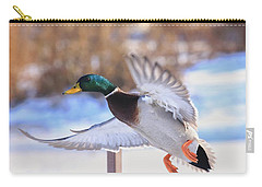 Flying By Carry-all Pouch by Lynn Hopwood