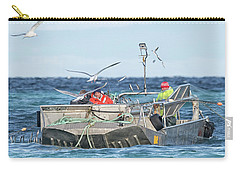 Carry-all Pouch featuring the photograph Flying Fish by Randy Hall