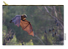 Flying Fox In Mid Air Carry-all Pouch