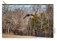 Flying Over Cloud Field Carry-all Pouch by TnBackroadsPhotos