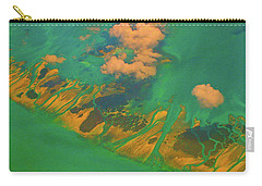 Flying Over The Keys, Florida Carry-all Pouch