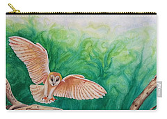 Flying Owl Carry-all Pouch by Steed Edwards
