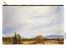 Flying South Carry-all Pouch by Judith Levins