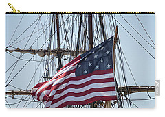Carry-all Pouch featuring the photograph Flying The Flags by Dale Kincaid