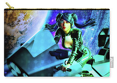 Flying Through Galaxies Carry-all Pouch
