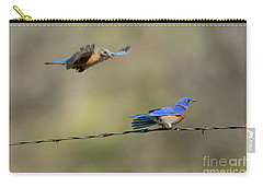 Flying To You Carry-all Pouch by Mike Dawson