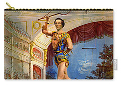 Carry-all Pouch featuring the photograph Flying Trapeze 1850 by Padre Art