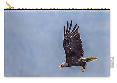 Flying With His Mouth Full.  Carry-all Pouch by Timothy Latta