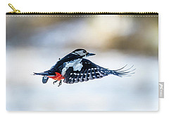 Flying Woodpecker Carry-all Pouch by Torbjorn Swenelius