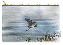 Carry-all Pouch featuring the photograph Flyover by Judy Hall-Folde