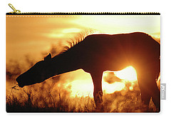 Foal Silhouette Carry-all Pouch