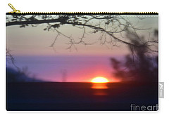 Focusing On A New Day Carry-all Pouch by Angela J Wright