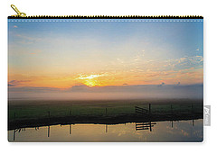 Carry-all Pouch featuring the photograph Fog 1 by Shannon Harrington