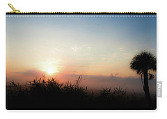 Carry-all Pouch featuring the photograph Fog 2 by Shannon Harrington