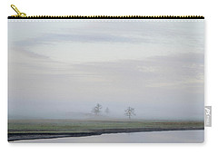 Carry-all Pouch featuring the photograph Fog 3 by Shannon Harrington