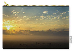 Carry-all Pouch featuring the photograph Fog 4 by Shannon Harrington