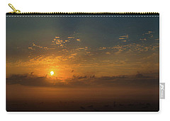 Carry-all Pouch featuring the photograph Fog 5 by Shannon Harrington