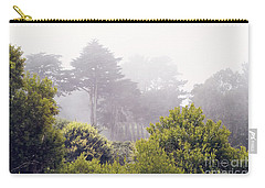 Carry-all Pouch featuring the photograph Fog At Lands End by Cindy Garber Iverson