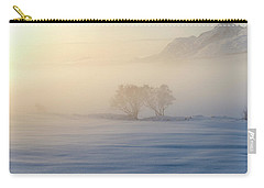 Carry-all Pouch featuring the photograph Fog In Lofoten 3 by Dubi Roman