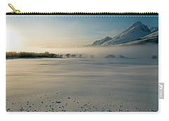Fog In Lofoten 5 Carry-all Pouch