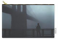 Fog Life  Carry-all Pouch by Anthony Fields