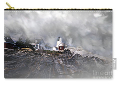 Fog On Pemaquid Point Carry-all Pouch
