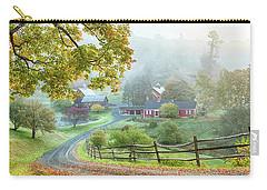 Fog On Sleepy Hollow Farm Carry-all Pouch
