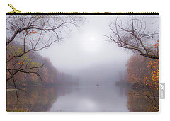 Fog On The Lake Carry-all Pouch