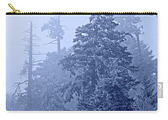 Carry-all Pouch featuring the photograph Fog On The Mountain by John Stephens