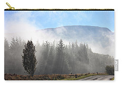 Fog On The Road To Fintry Carry-all Pouch