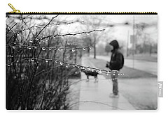 Carry-all Pouch featuring the photograph Fog Rain by Jeanette O'Toole