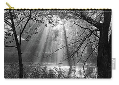 Fog Rays Carry-all Pouch by Betsy Zimmerli