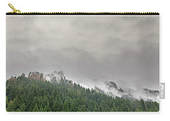 Fog Rolling Over Columbia River Gorge Carry-all Pouch