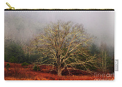 Fog Tree Carry-all Pouch by Geraldine DeBoer