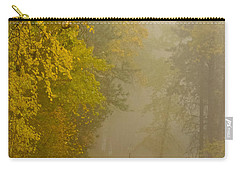 Foggy Autumn Morn Carry-all Pouch