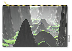 Foggy Canyon Walls Carry-all Pouch